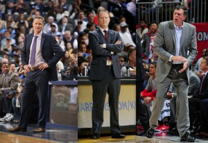 """Diese drei Trainer kämpfen um den Titel des """"Coach of the Year 2015"""" (Foto: Getty Images)"""