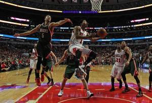 Entscheidender Mann gegen die Bucks: Derrick Rose (Foto: Getty Images)
