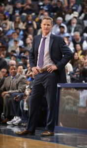 "Als Rookie-Trainer ""Coach of the Year?""; Steve Kerr (Foto: Getty Images)"