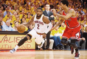 Kyrie Irving und Derrick Rose (Foto: Getty Images)