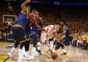 Steph Curry fand überhaupt nicht seinen Rhythmus! (Foto: Getty Images)