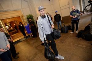 Klay Thompson nach der Finals-Feier (Foto: Getty Images)