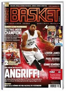 Cover 3 der BASKET 7-8/2015: Anthony Davis