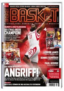 Cover 2 von BASKET 7-8/2015: James Harden