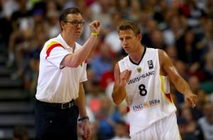 Chris Fleming und Heiko Schaffartzik kommen mit dem DBB-Team immer besser in Schwung (Foto: Getty Images)