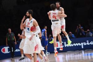Gasol und seine Spanier feiern ihren dritten EM-Titel in acht Jahren. (Foto: Getty Images)