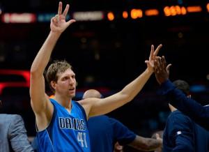 Dirk Nowitzki spielt bisher in richtig starker Form! (Foto: Getty Images)