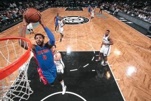 Andre Drummond von den Detroit Pistons  (Foto: Getty Images)