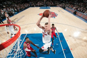 Kristaps Porzingis von den New York Knicks  (Foto: Getty Images)