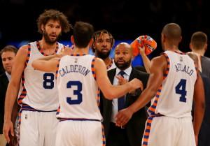 Coach Fisher und die New York Knicks