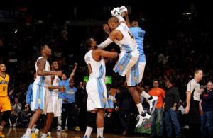 Die Denver Nuggets besiegen die Indiana Pacers
