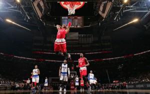 Russell Westbrook begeisterte mit vielen Highlights und wurde erneut MVP. Foto: getty images