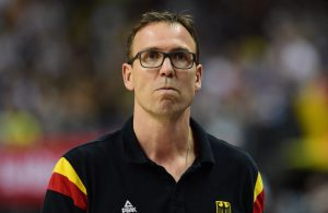 Chris Fleming als Coach der deutschen Basketball-Nationalmannschaft.