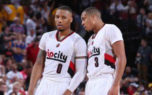 Sind Lillard und McCollum der stärkste Backcourt der NBA? (Foto: Getty Images)