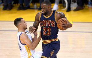 LeBron James gab in Spiel 6 eine Antwort auf die Frage nach dem besten Baketballer der Welt