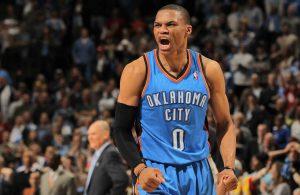 OKC-Guard Russell Westbrook ist amtierender Allstar-Game-MVP.