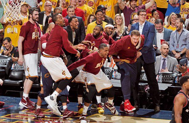 Ohne eine funktionierende Bank hätten die Cleveland Cavaliers im Kampf um die Championship 2016 keine Chance gehabt.  Foto: getty images