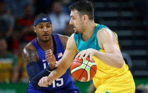 Carmelo Anthony rettete mit 31 Punkten sein Team gegen starke Australier (Foto:Getty Images).