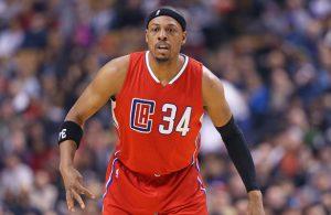 Paul Pierce von den Los Angeles Clippers bei einem NBA-Spiel seines Teams.