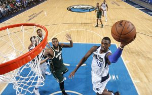 Harrison Barnes verzeichnete mit 34 Punkten ein neues Career-High (Foto: Getty Images).