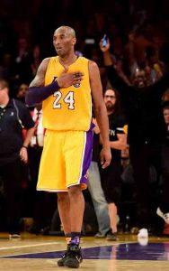 Kobe Bryant sagt nach 20 Jahren Goodbye (Foto: Getty Images).