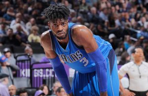 Nerlens Noel während eines NBA-Spiels mit den Dallas Mavericks.