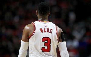 Dwyane Wade im Trikot der Chicago Bulls.