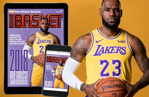 Die neue Digital-Ausgabe der BASKET.