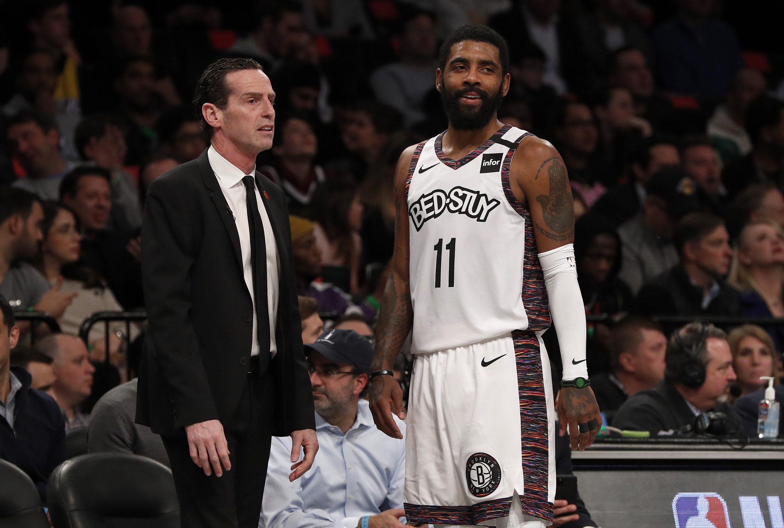 Kenny Atkinson, Kyrie Irving