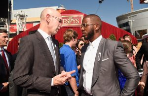 Adam Silver, Chris Paul