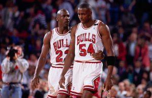Michael Jordan, Horance Grant