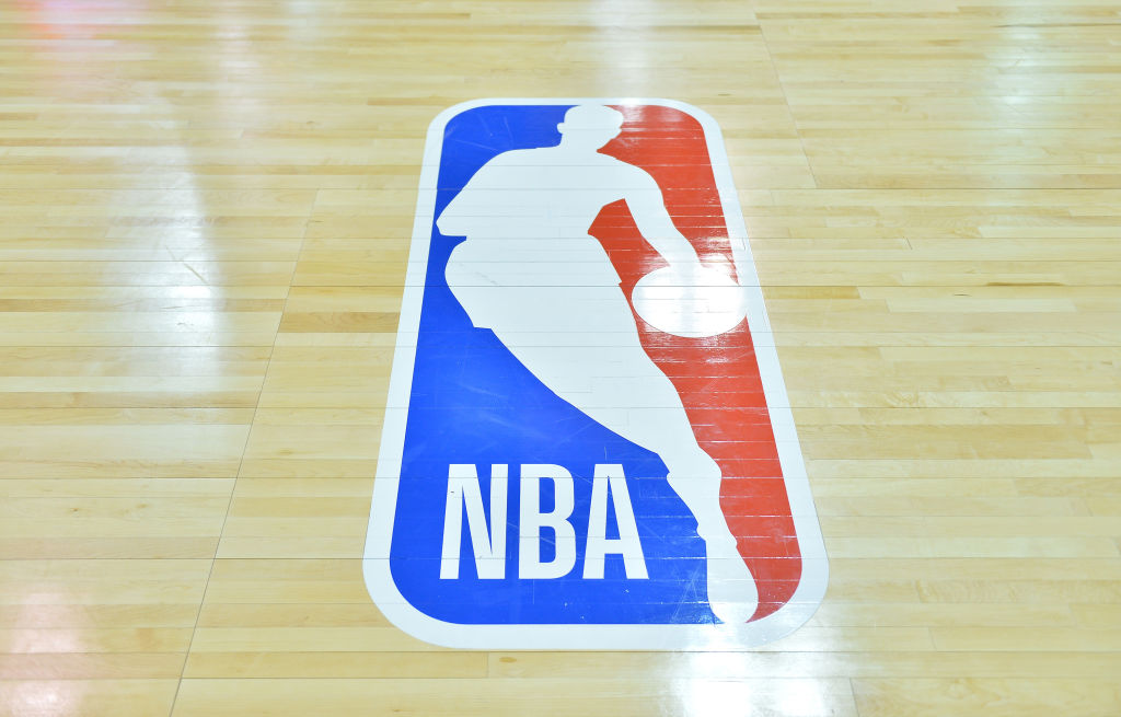 NBA Logo Court