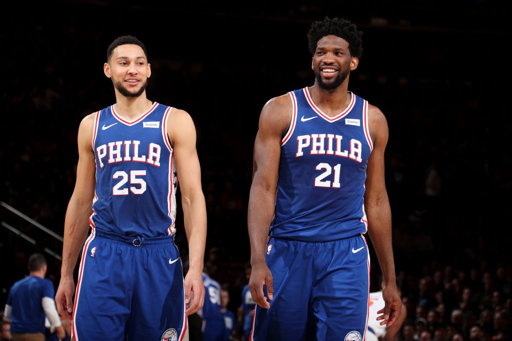 Simmons, Embiid