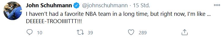 JohnSchuhmann Twitter