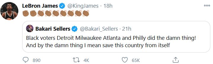 LeBron Twitter