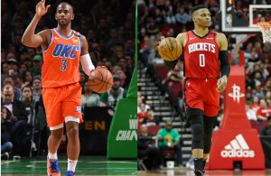 Chris Paul & Russell Westbrook