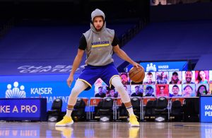 Stephen Curry Warmup